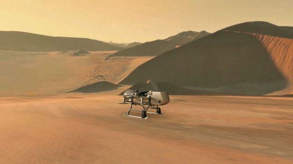 Sudah Jelajahi Bumi, Drone Bersiap Eksplorasi Luar Angkasa