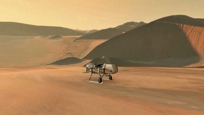 Sudah menjelajahi Bumi, Drone bersiap eksplorasi luar angkasa. (Foto: Dok. NASA/JHU-APL via Space.com)