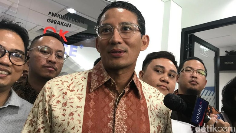 Pascapilpres, Sandiaga Ingin Terus Bantu Prabowo