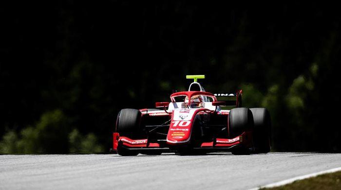 Sean Gelael gagal dapat poin pada seri F2 Austria (Joe Portlock / LAT Images / FIA F2 Championship)
