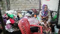 Tinggal di Gubuk Reyot, Nenek di Bone Sulsel Hidup Memprihatinkan