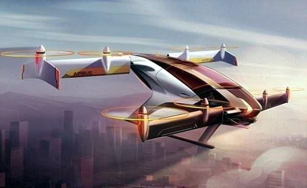 Vahana dibekali motor elektrik sebagai sumber tenaga. Taksi terbang ini mampu mengangkut 1 orang penumpang. (dok. Vahana Aero)