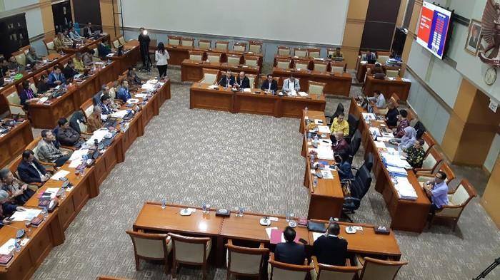 Ilustrasi Rapat Komisi III Bersama KPK (Dok. detikcom)