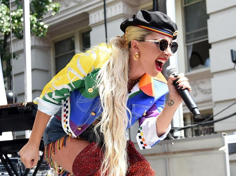 Lady Gaga Foto: Jamie McCarthy/Getty Images for Pride Live