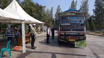 15 Truk Odol Terjaring Razia di Tol Palikanci Cirebon