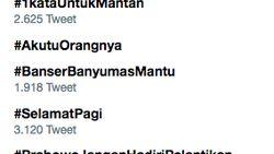 Selasa Galau! #1kataUntukMantan Rajai Twitter