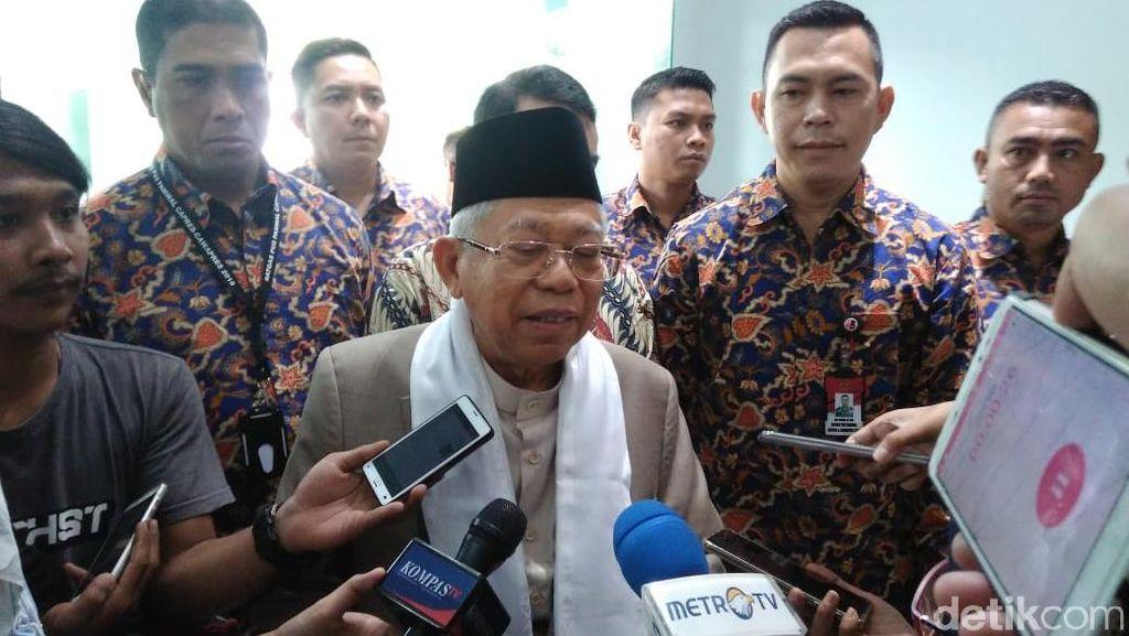 Maruf Amin: Ekonomi Harus Dinikmati Seluruh Rakyat, Tanpa Kecuali!