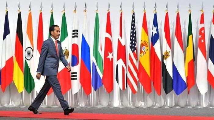 Jokowi di KTT G20 (Instagram @jokowi)