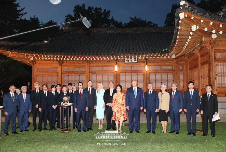 Donald Trump menggelar acara dan mengundang EXO untuk hadir.Dok. Twitter