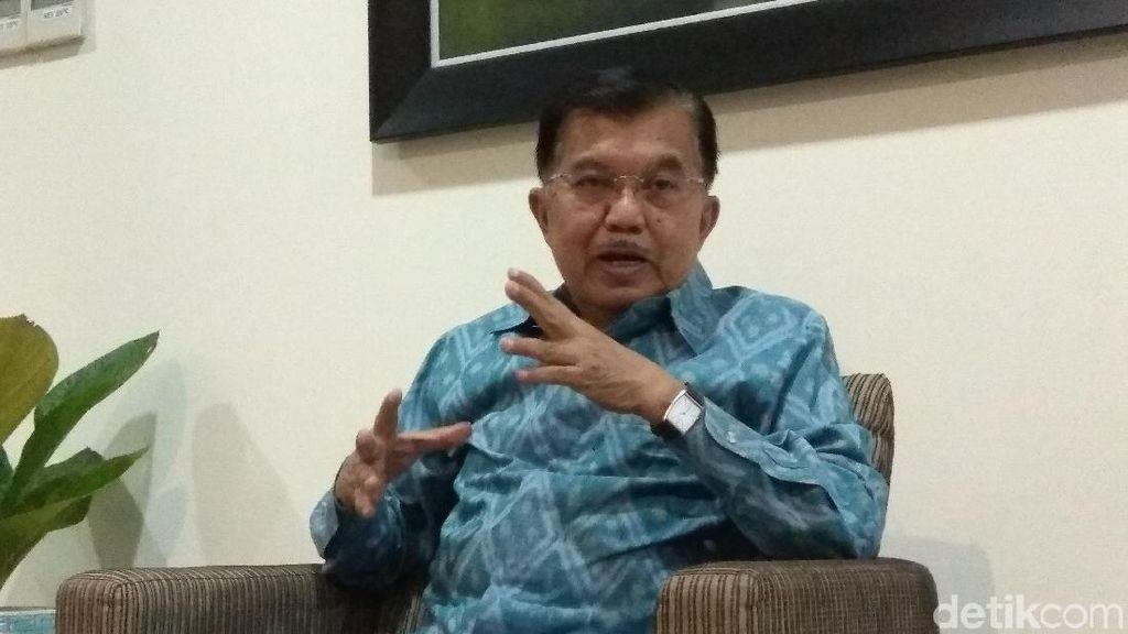 Bicara Korupsi, JK: Di Indonesia 10 Menteri, 20 Gubernur Masuk Penjara