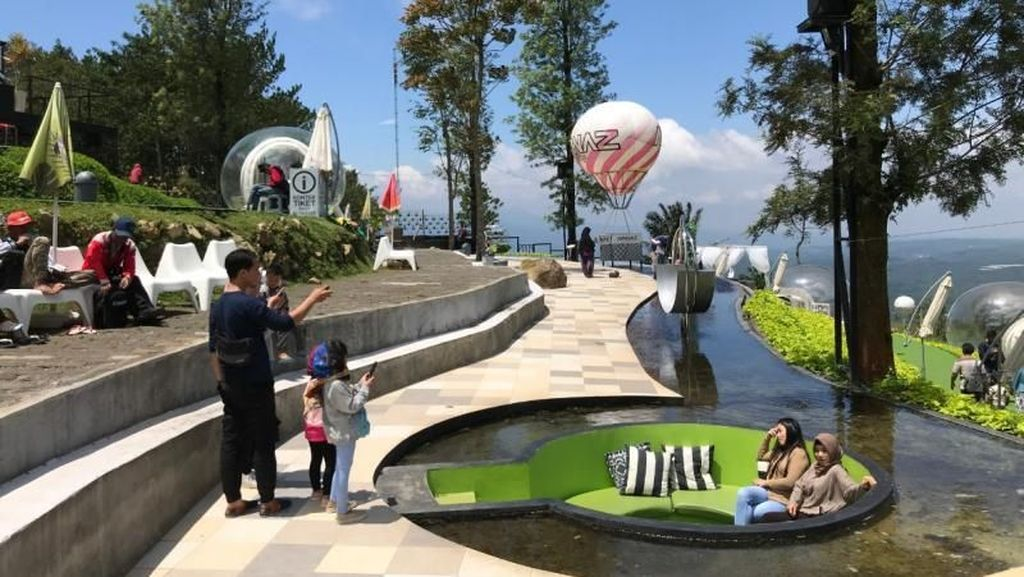 Taman Cantik Buat Selfie di Daerah Bandungan
