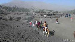 Aktivitas Gunung Bromo Meningkat, Terjadi Tremor dan Hujan Abu