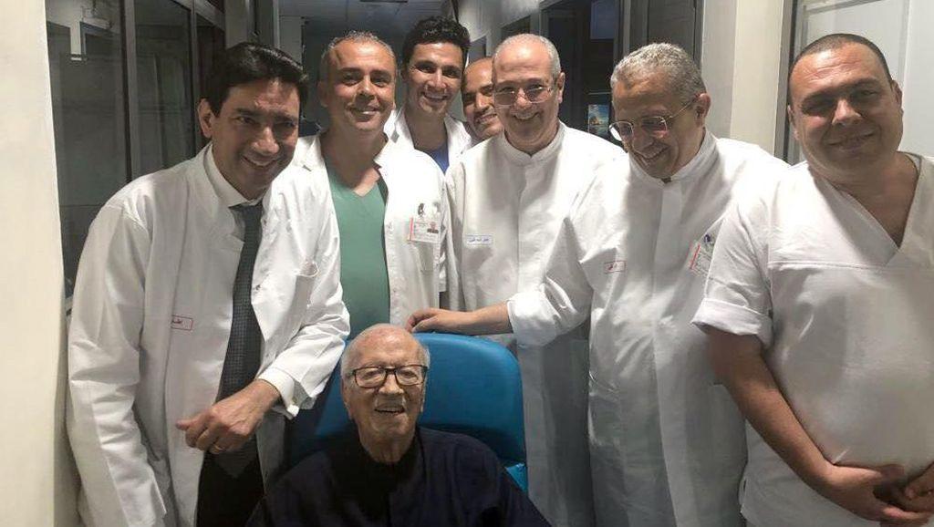 Sempat Dirawat di RS, Presiden Tunisia Berusia 92 Tahun Siap Bekerja Lagi