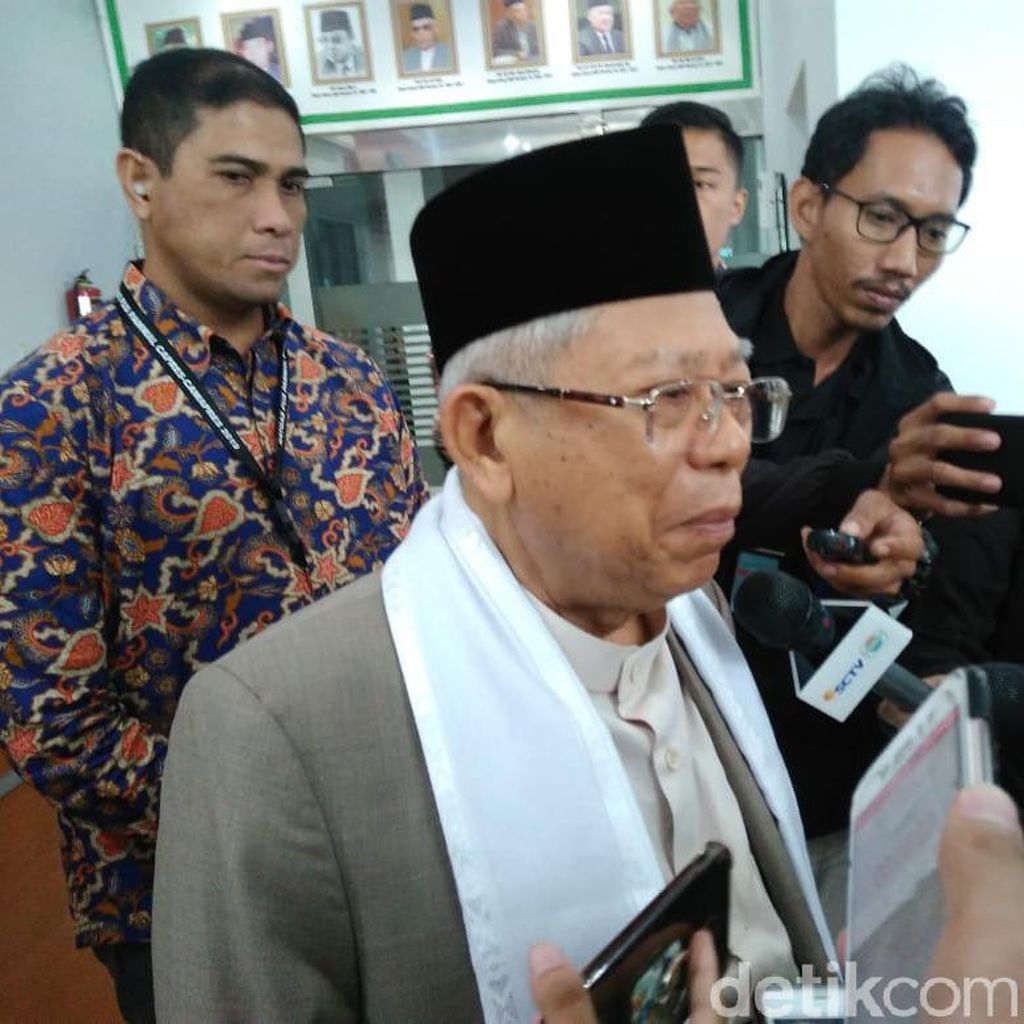 Maruf Amin Ingin Pesantren Dapat APBN