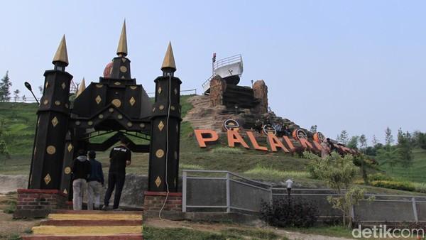 Banyak fasilitas yang akan dilengkapi di Palalangon Park, dari mulai spot foto, gazebo dan lainnya. Obyek wisata ini baru dibangun pada Agustus 2018 lalu. (Wisma Putra/detikcom)