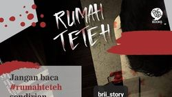 Cerita Mistis Rumah Teteh yang Ditulis Brii Diadaptasi Jadi Buku