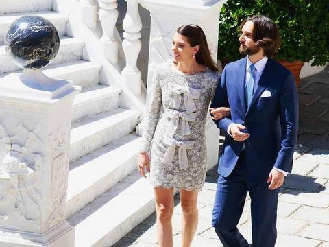 Mempesona! Ini Penampilan Putri Cantik Monako Pakai 3 Gaun Pernikahan