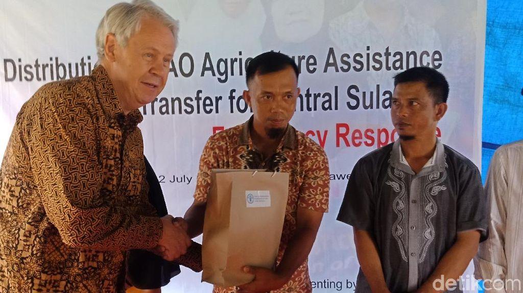 Petani dan Nelayan Sulteng Dapat Bantuan Rp 14 Miliar dari FAO
