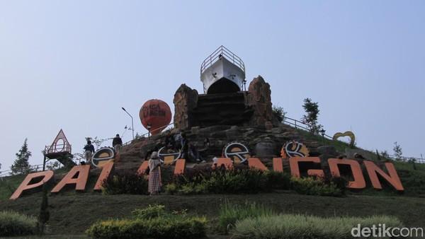 Inilah penampakan Palalangon Park, tempat wisata baru di daerah Bandung Selatan. Lokasi tepatnya ada di Desa Cibodas, Kecamatan Pasirjambu, Kabupaten Bandung. (Wisma Putra/detikcom)