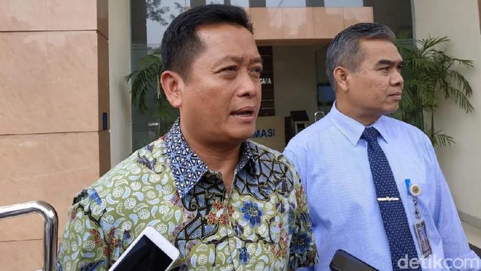 Sidang gugatan pelantikan Sekda Kota Bandung di PTUN Bandung.