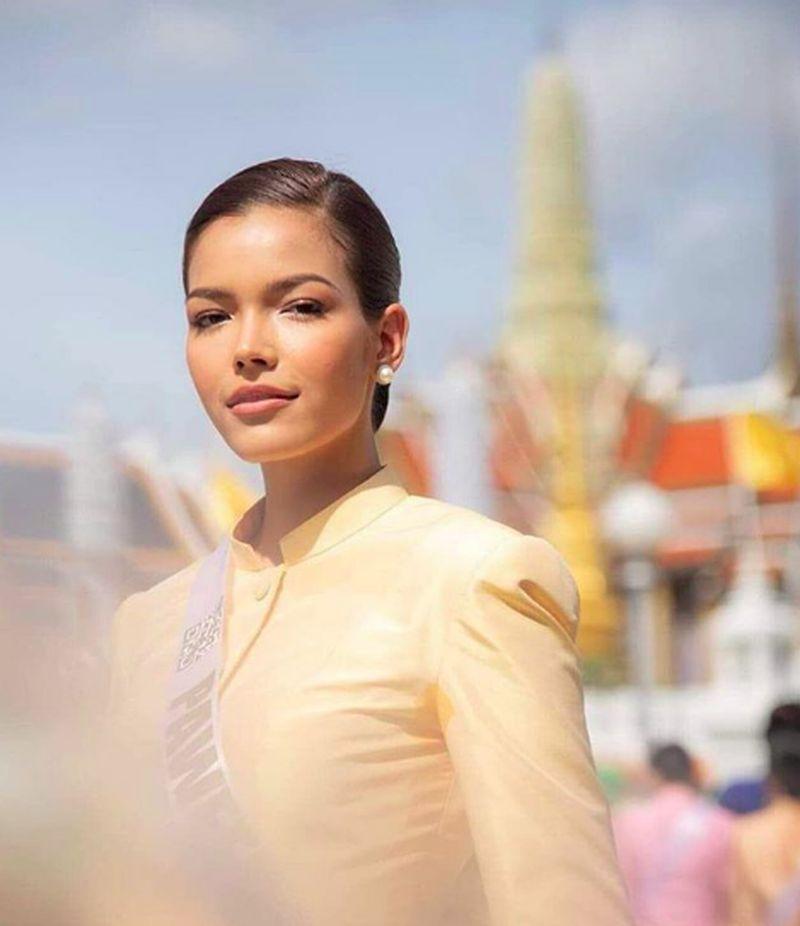 Miss Universe Thailand 2019 mewarnai dunia pageant Miss Universe Thailand 2019. Dia keluar sebagai juara di tahun ini. (paweensuda/Instagram)