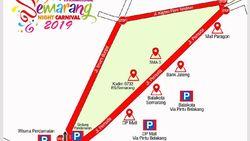 3 Jalan di Semarang Ditutup untuk SNC 2019 Rabu Besok