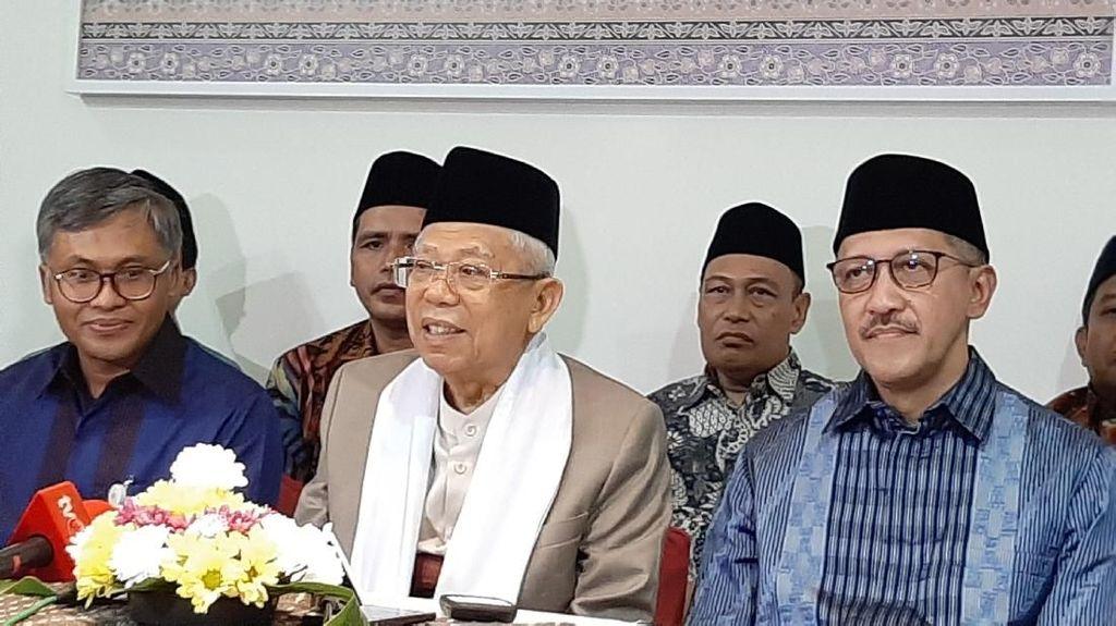 Maruf Amin Beberkan Tantangan Garap Keuangan Syariah di RI
