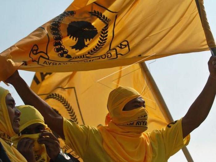 Ilustrasi Bendera Golkar/Antarafoto