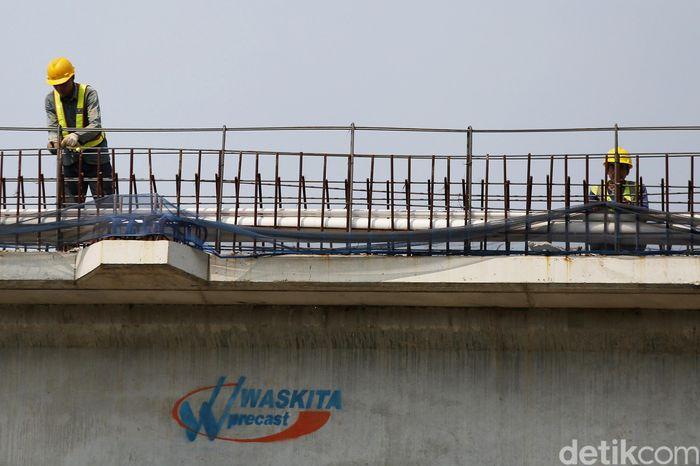 Begini penampakan terkini progres pembangunan Tol Becakayu seksi 2A, Rabu (3/7/2019).