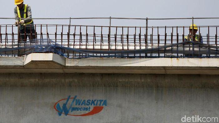 Progres pembangunan Tol Becakayu seksi 2A sudah mencapai 44%/Foto: Agung Pambudhy