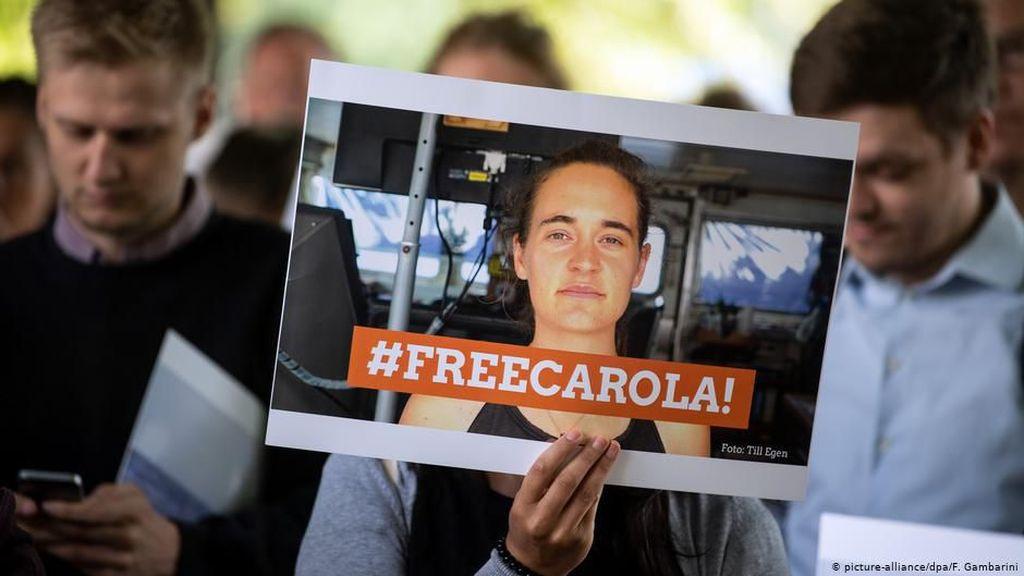 Pengadilan Italia Bebaskan Carola Rackete Kapten Kapal Penyelamat Pengungsi