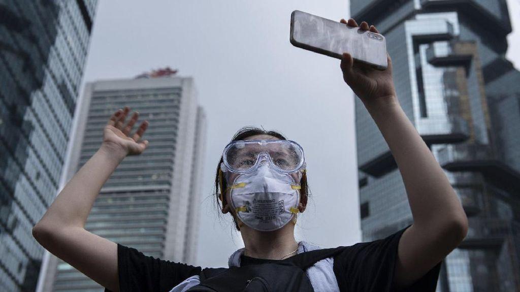 Hong Kong: Bagaimana Aplikasi Daring Gerakkan Demo Besar Tanpa Pemimpin