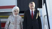 Foto: Gaya Istri Presiden Turki yang Tampil Mewah Saat Rakyat Hidup Susah