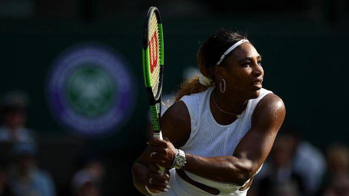 Serena Williams lolos ke babak kedua Wimbledon 2019 (Foto: Matthias Hangst/Getty Images)