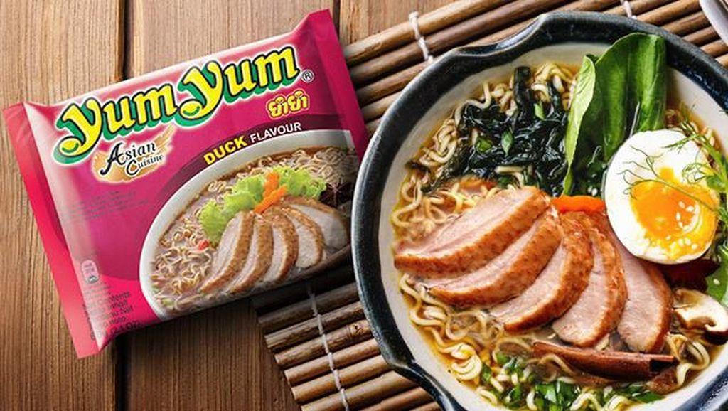 Murah dan Enak! Mie Instan Tom Yum dan Kari dari Thailand