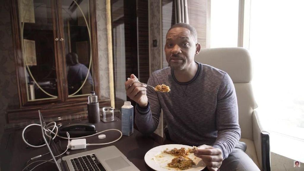 Film Aladdin Sukses Besar, Ini Menu Sarapan Will Smith yang Enak