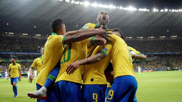 Brasil akan menghadapi Peru di final Copa America.
