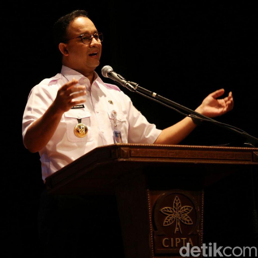 Pemilihan Wagub DKI Molor, Anies: Jangan Sampai Tahun Depan Dong