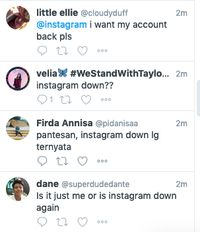 WhatsApp Down, Instagram Juga?