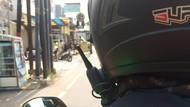 Viral Helm Canggih Abang Ojol, Bisa Ngobrol Tanpa Teriak
