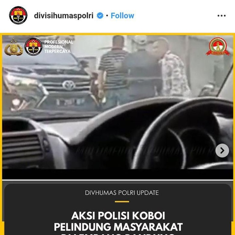 Respons Kompolnas soal Aksi Koboi AKBP Deden di Lembang