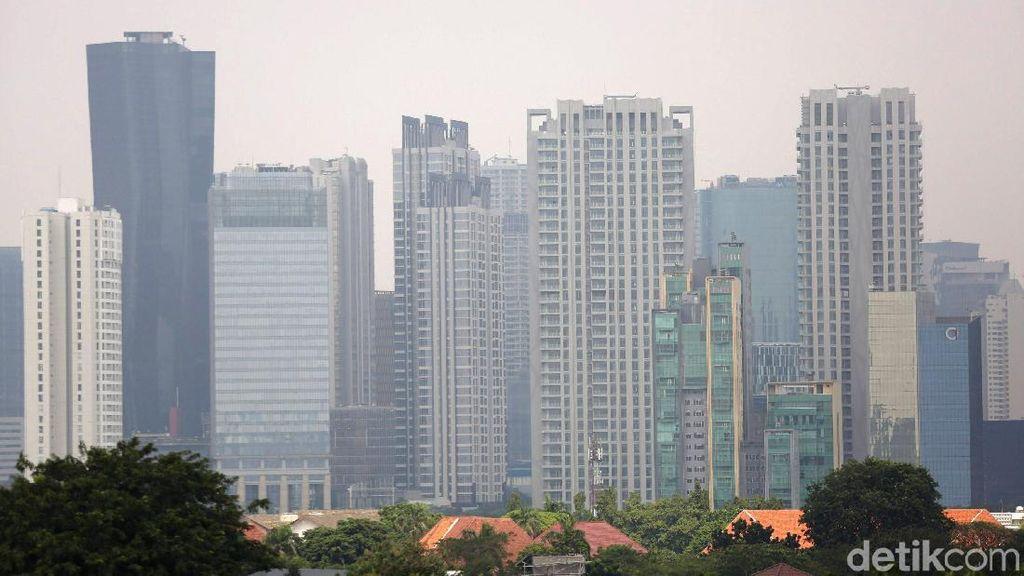 Potret Hutan Beton Berselimut Polusi Udara Ibu Kota