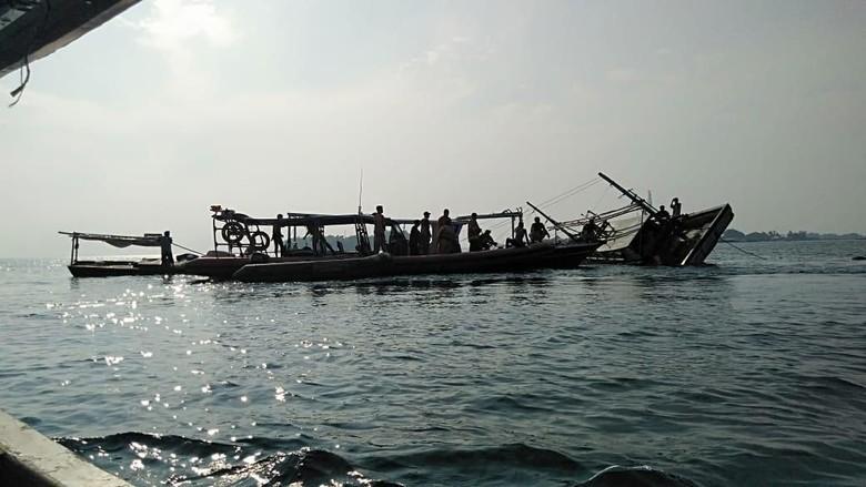 Cuaca Berkabut, Kapal Nelayan Terbalik di Kepulauan Seribu