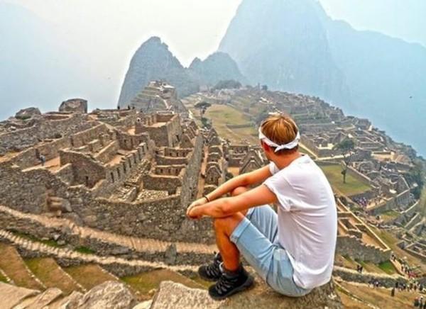 Bucket list selanjutnya adalah Machu Picchu di Peru. (Jamie Ather/BBC)