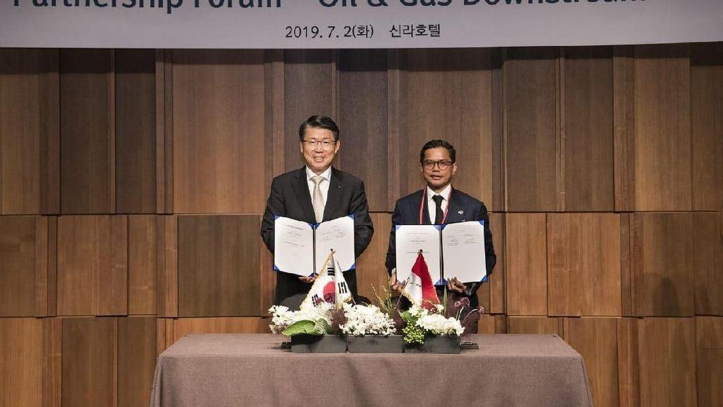 Pertamina-Eximbank Korsel Teken Kerja Sama Rp 21 T Bangun Kilang