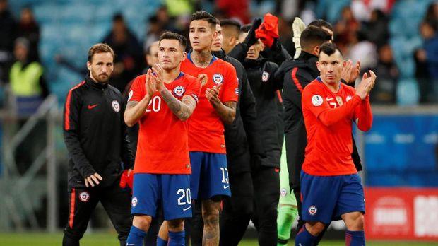 Chile harus mengubur ambisi untuk lolos ke final Copa America.