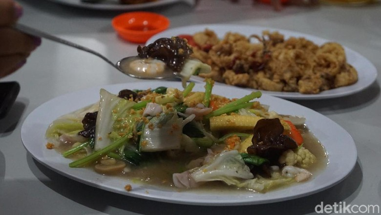 Restoran Mr Jo Belitung (Shinta/detikcom)