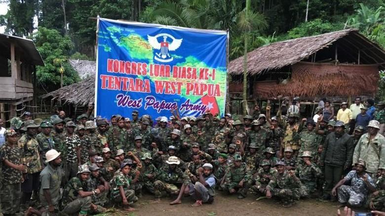 3 Kelompok Separatis Bersenjata Kini Bersatu Jadi Tentara West Papua