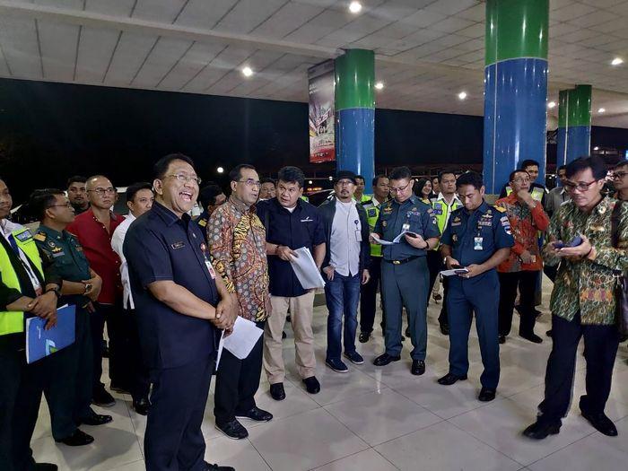 Menhub beserta rombongan tiba di Bandara Sam Ratulangi Manado. Istimewa/Kemenhub.