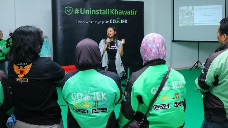 Pastikan Rasa Aman, Go-Jek Latih Mitra Anti-Kekerasan Seksual